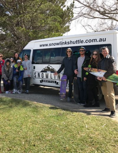 Explore with Snowlink Shuttle