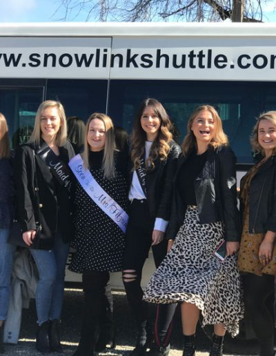 Snowlink Shuttle for Bride to be