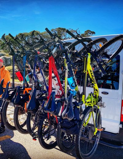 Perisher To Cooma Airport mtb bikes