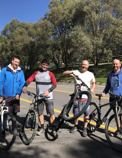 Canberra to Jindabyne bike and shuttle